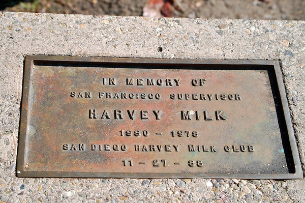 Harvey Milk Plaque