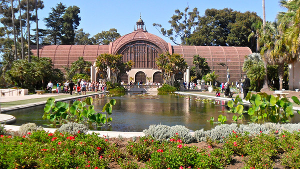 Botanical Building and Lily Pond at Balboa Park