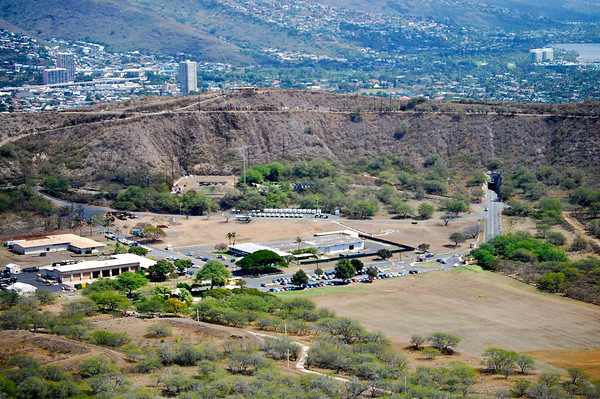 Inside Diamond Head Crater