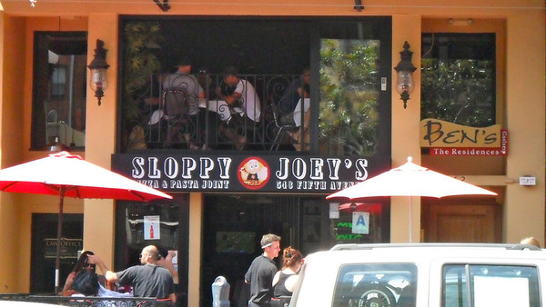 Sloppy Joey's, Gaslamp Quarter