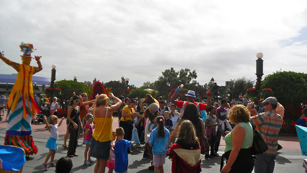 Parade at Magic Kingdom