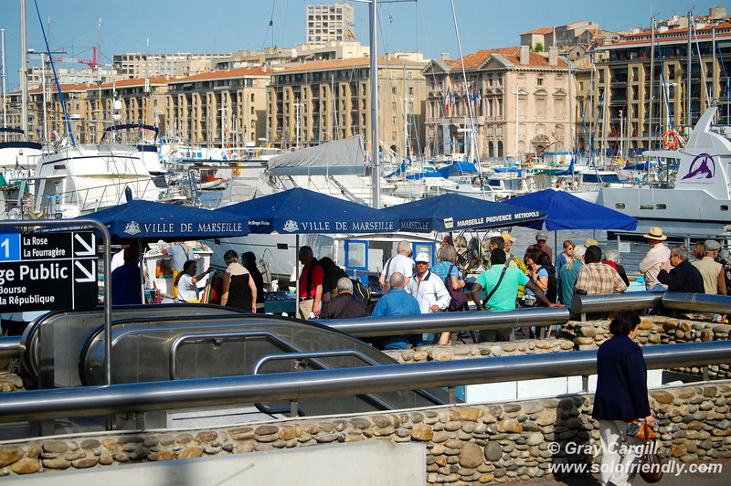 Fish Market in Marseilles