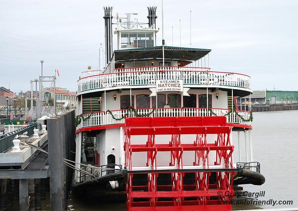 Steamboat Natchez on the Mississippi River