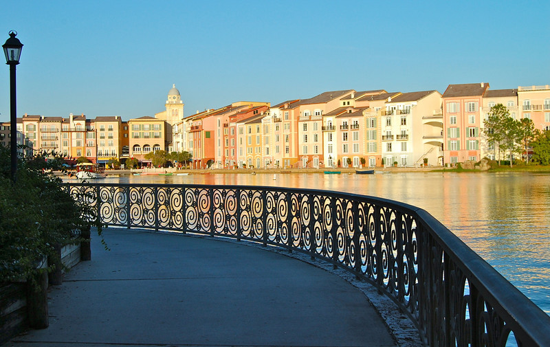 Path facing Portofino Bay
