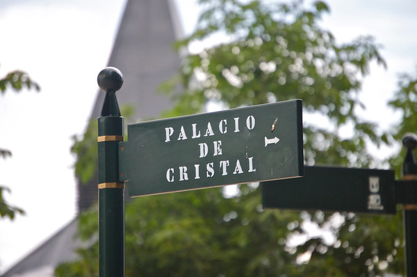 Sign to the Crystal Palace