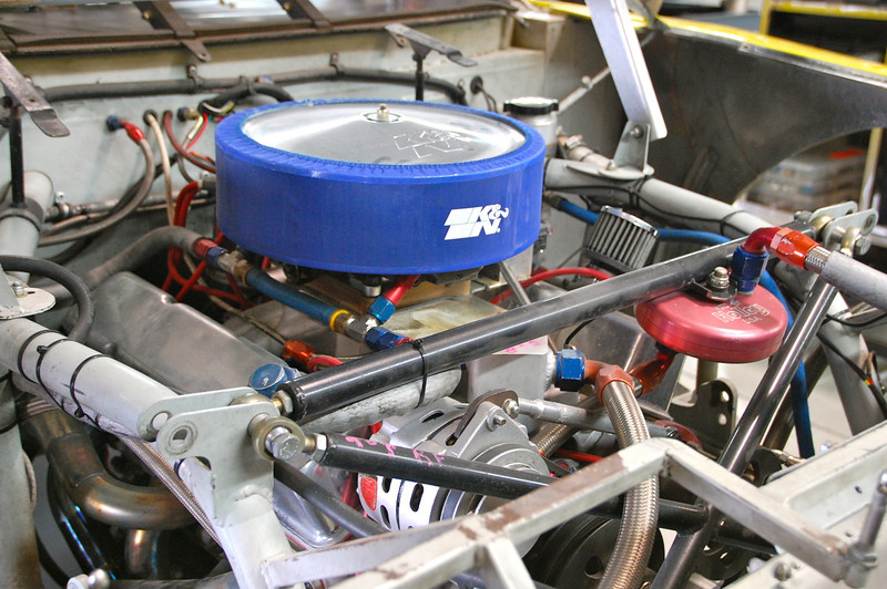 A stock car engine