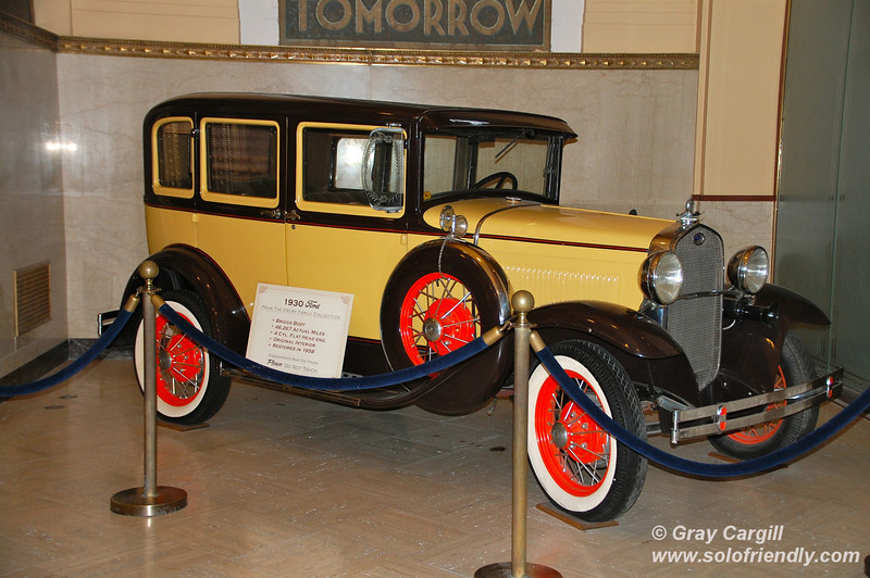 1930 Ford automobile